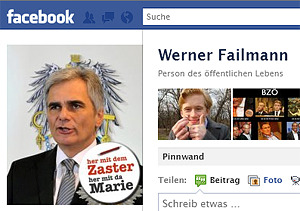 Screenshot: Failmann auf Facebook